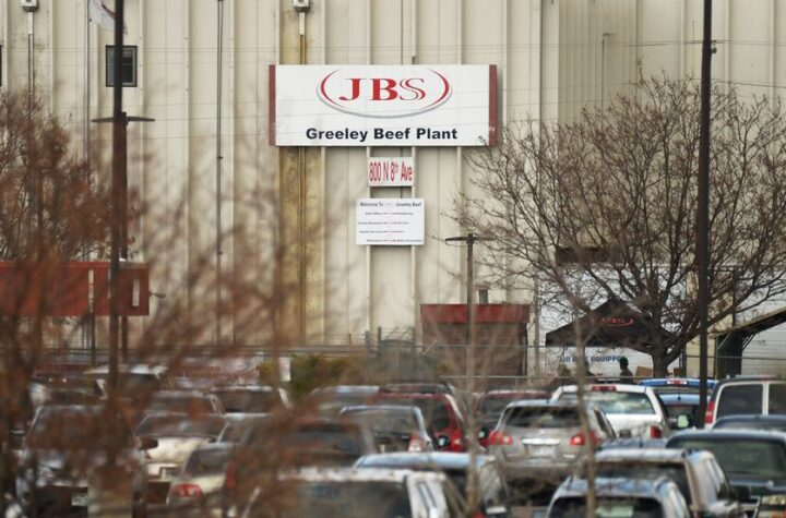 JBS cierra frigorífico Greeley