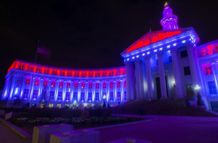 Denver rinde homenaje al personal médico de la ciudad Honoring First Responders Denver