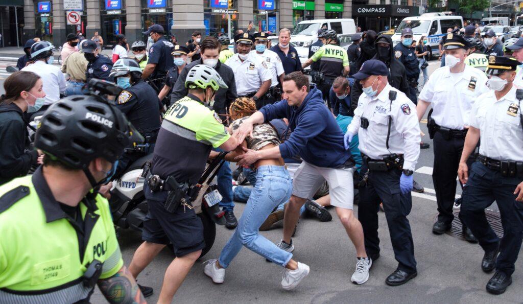 Nueva York protestas por George Floy
