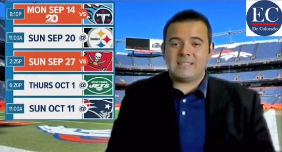 Broncos arrancan enfrentando a Titans