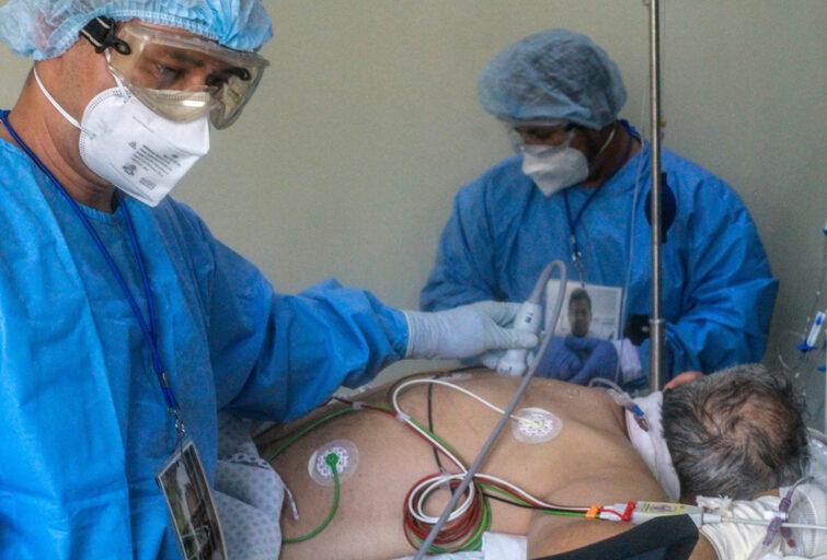 COVID-19 corazón hígado piel