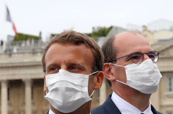 Macron obligará a llevar mascarilla