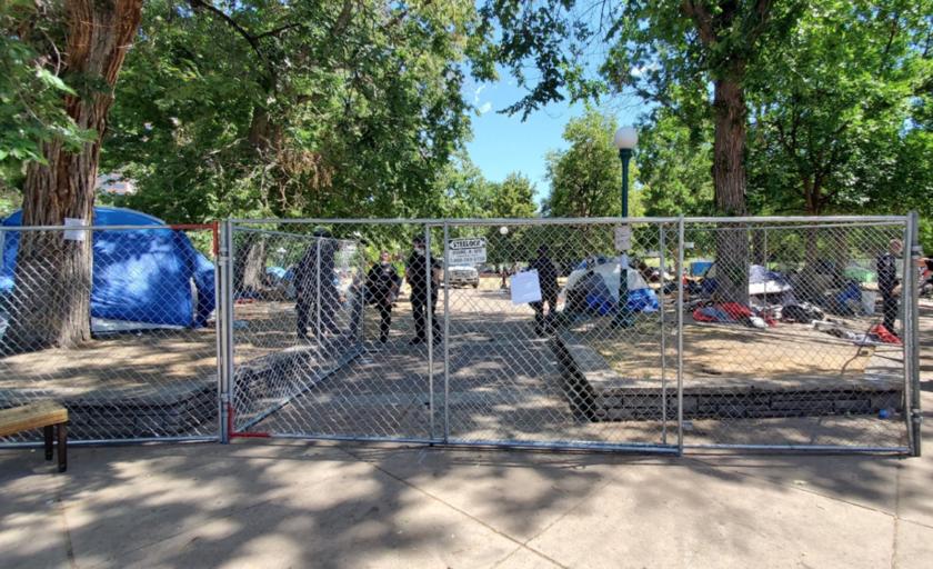 Desalojados ocupantes del Lincoln Park