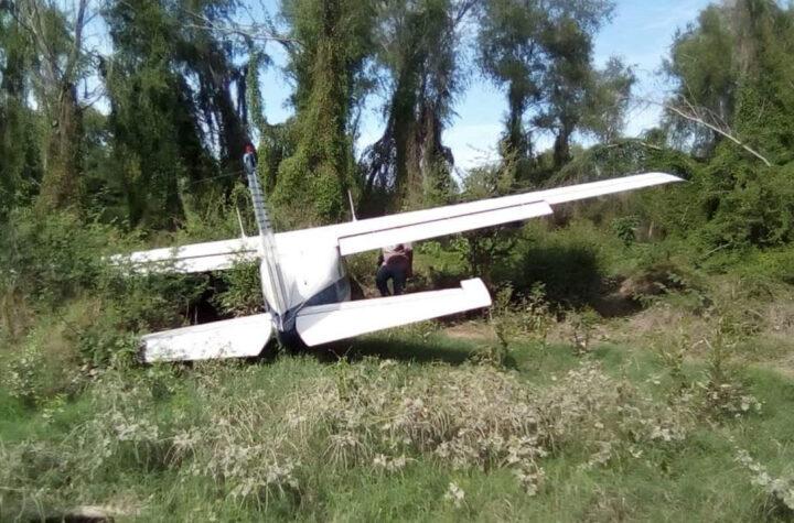 Víctimas en accidente aéreo