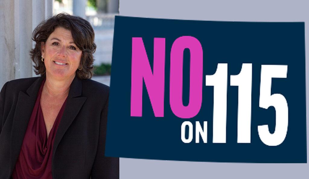 Vote No en la Proposición 115 Vote No on Proposition 115