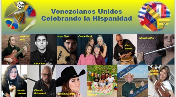 Diáspora venezolana celebra la hispanidad