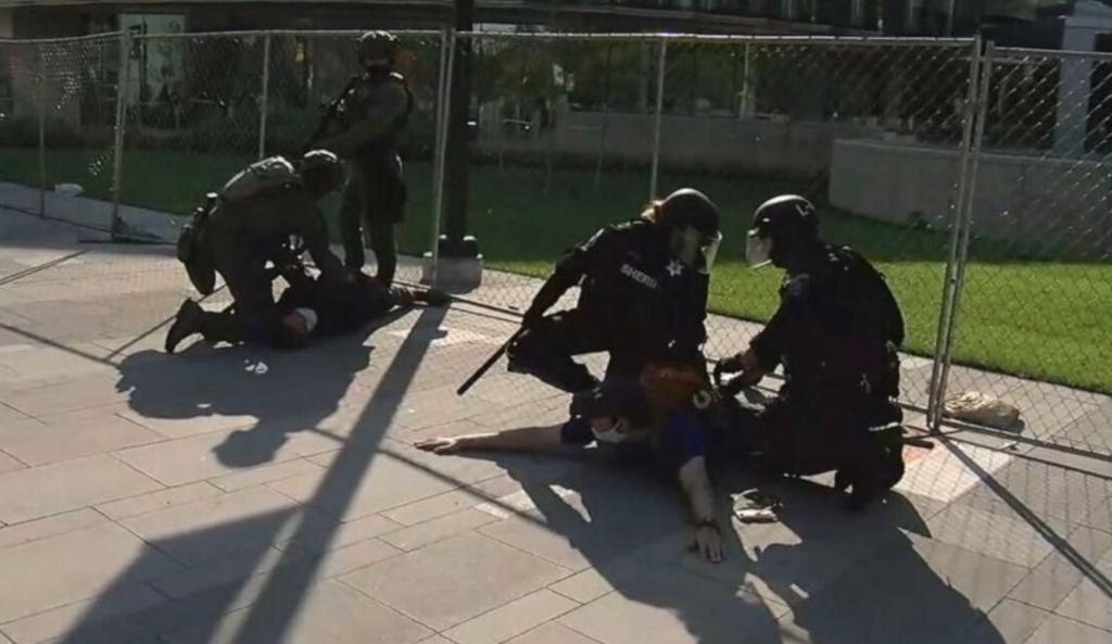 Guardia privado detenido por tiroteo