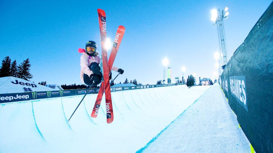 Las montañas rocosas son el paraíso de los deportes de invierno