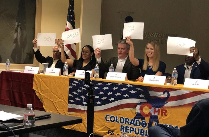 Republicanos en Colorado escogen su nuevo presidente