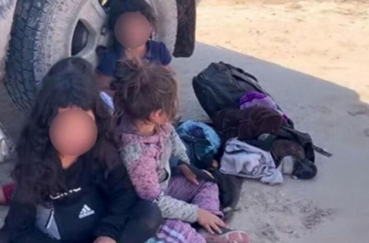 Niñas centroamericanas halladas en la frontera estuvieron secuestradas