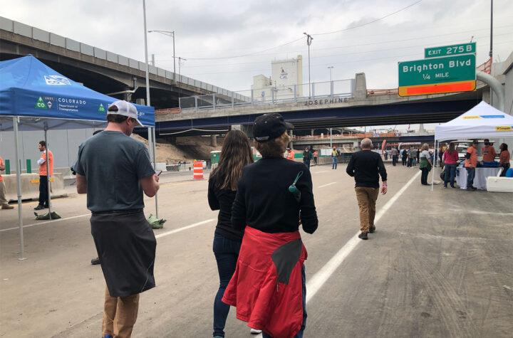 Inauguran sección baja de la I-70 Lower Section of I-70 Inaugurated Inauguran sección baja de la I-70