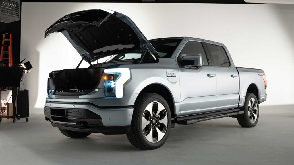 Ford presenta su F-150 eléctrica