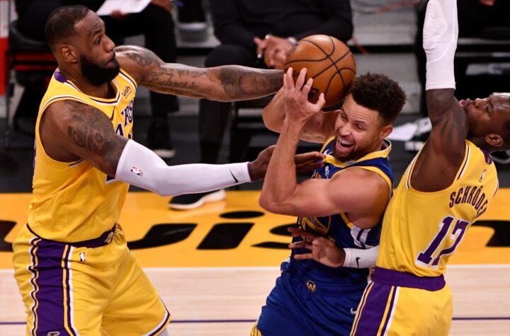 Choque Lakers Vs Warriors acapara Play In de la NBA