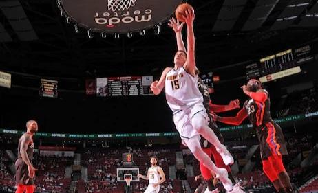 ¿Son los Denver Nuggets favoritos contra Portland en los playoff?