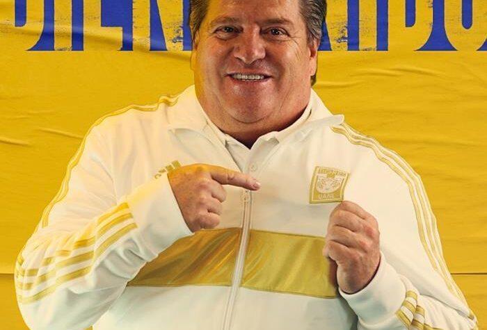Miguel Herrera, nuevo entrenador de los Tigres UANL