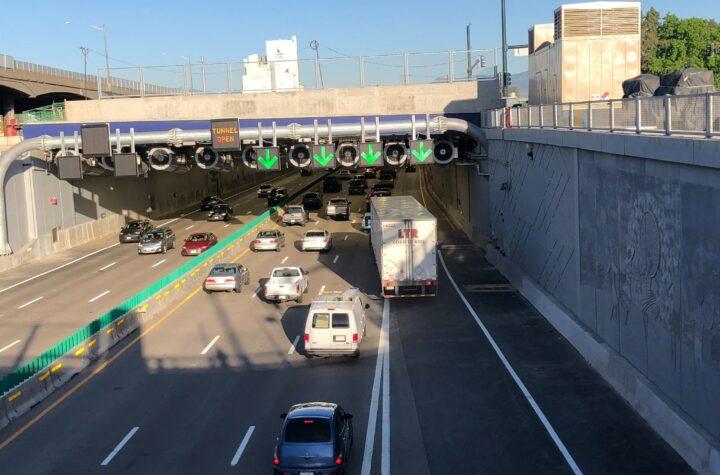Arranca el tráfico vehicular por la sección baja de la I-70