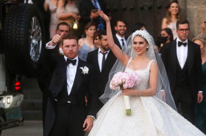 "El ""Canelo"" Álvarez contrajo matrimonio en Guadalajara"
