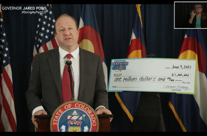 Colorado Will Raffle Five Million Dollars Among Those Vaccinated