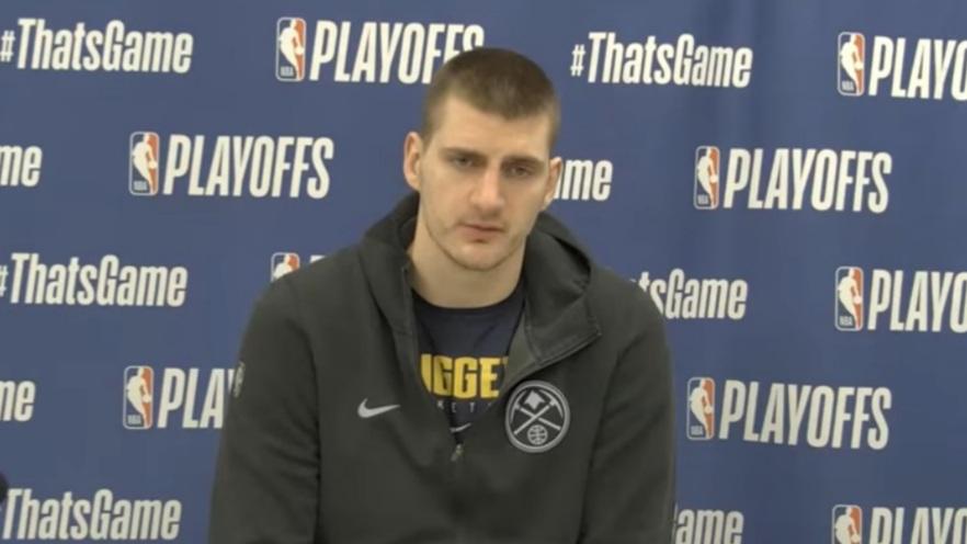 """Nikola Jokić ante las críticas: """"No creo que hayamos jugado blando"""""""