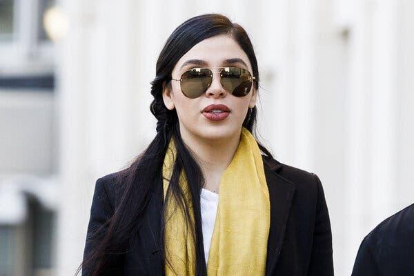 La esposa del Chapo podría declararse culpable en la próximas horas