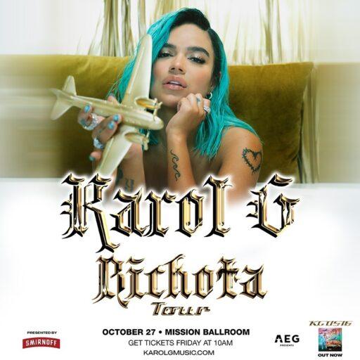Karol G arranca su gira en Denver