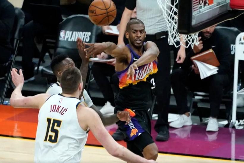 Los Denver Nuggets pierden el segundo juego contra los Phoenix Suns