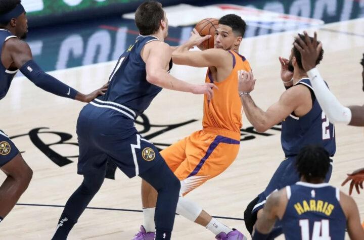Los Nuggets están a un paso de quedar eliminados por los Suns