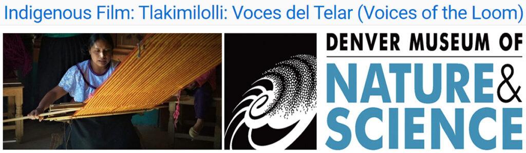 Película Tlakimilolli: Voces del Telar
