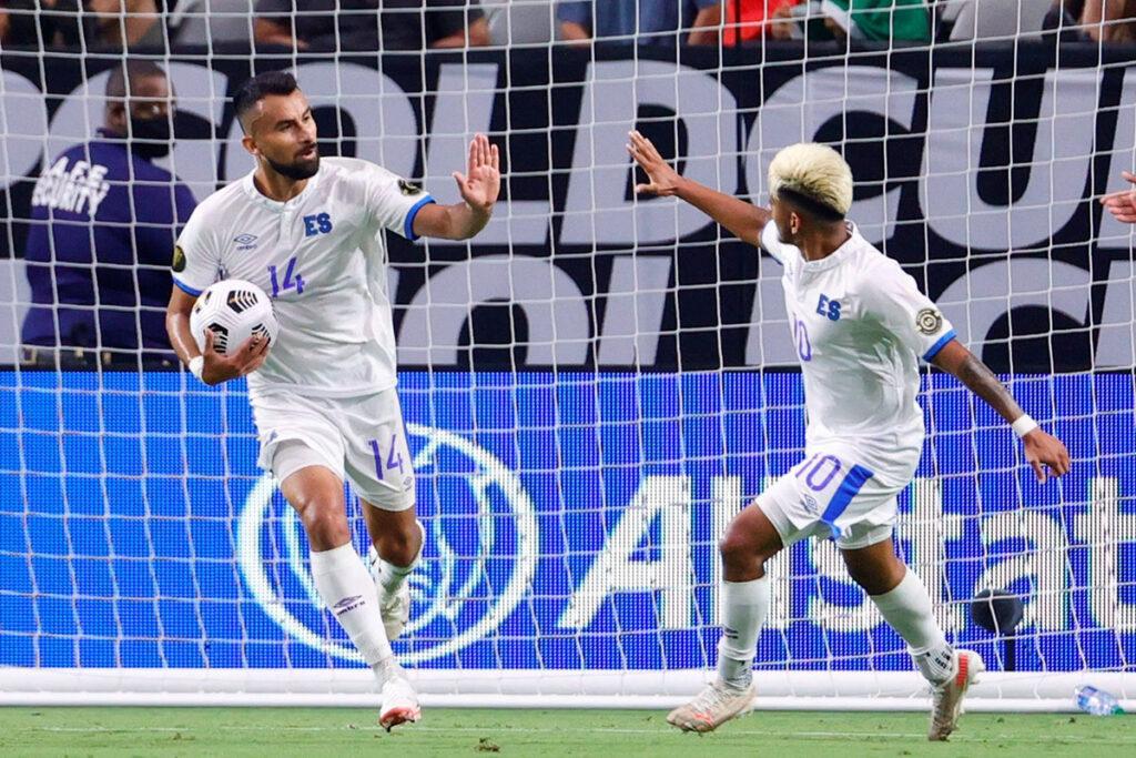 El Salvador dejó una buena estela en la Copa Oro 2021