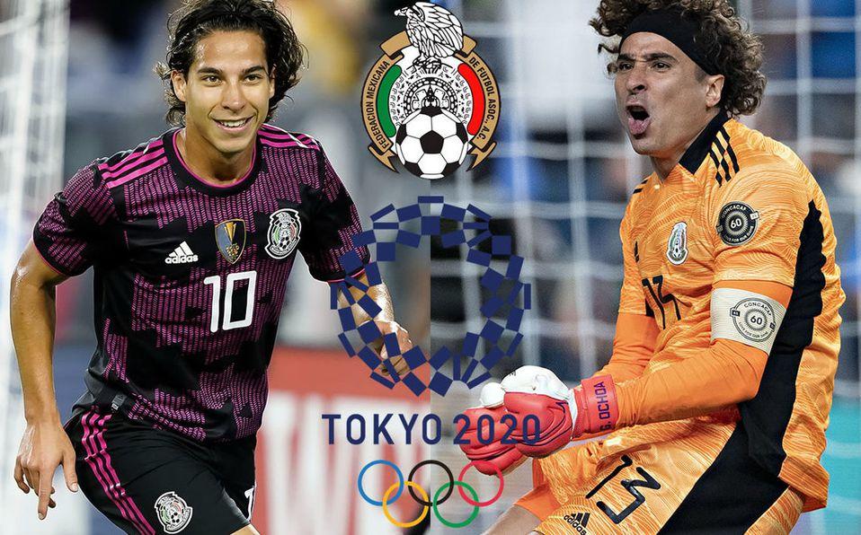 Selección mexicana se enfrenta a Francia en las olimpíadas de Tokio