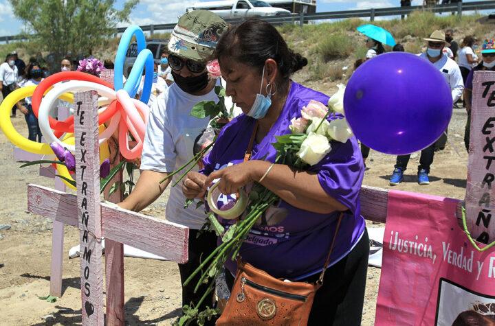 Condenan la trata y el feminicidio en una caravana