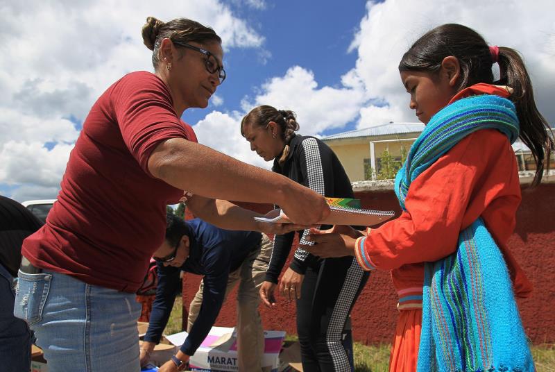 Clases presenciales salvan a tarahumaras del sicariato