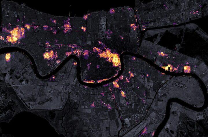 Casi un millón de clientes todavía sin luz en Nueva Orleans por Ida