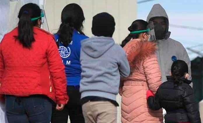 Migrantes encontrados en bodega