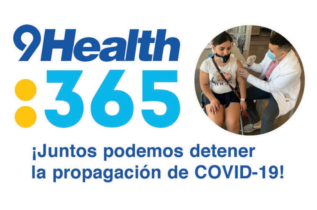 Clínicas GRATUITAS de vacunación de 9Health: 365