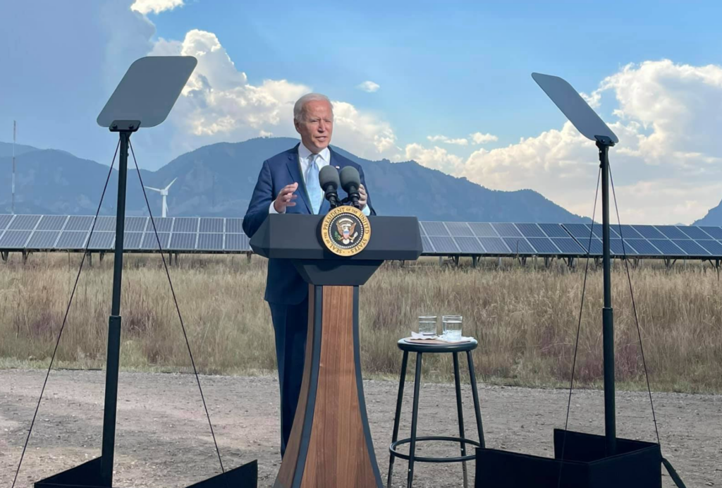 Biden busca apoyo para enfrentar el cambio climático