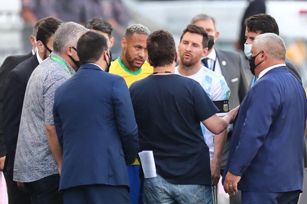 FIFA aplicará por incidente del juego Brasil-Argentina