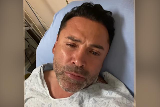 De la Hoya está hospitalizado tras dar positivo en coronavirus