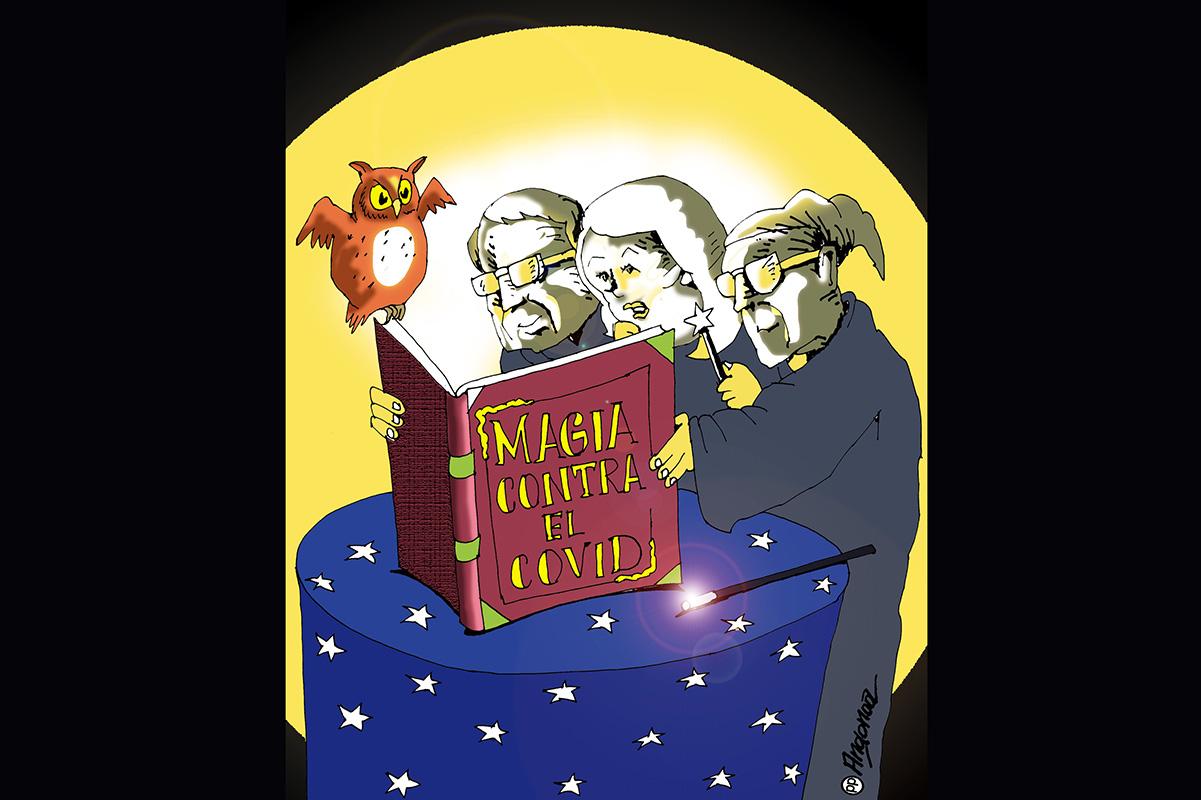 Los tres magos del condado Douglas