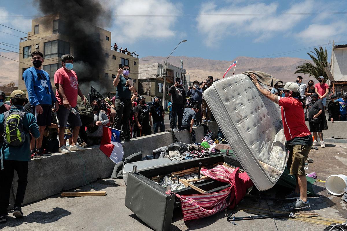 Desatada la violencia xenofóbica en Chile
