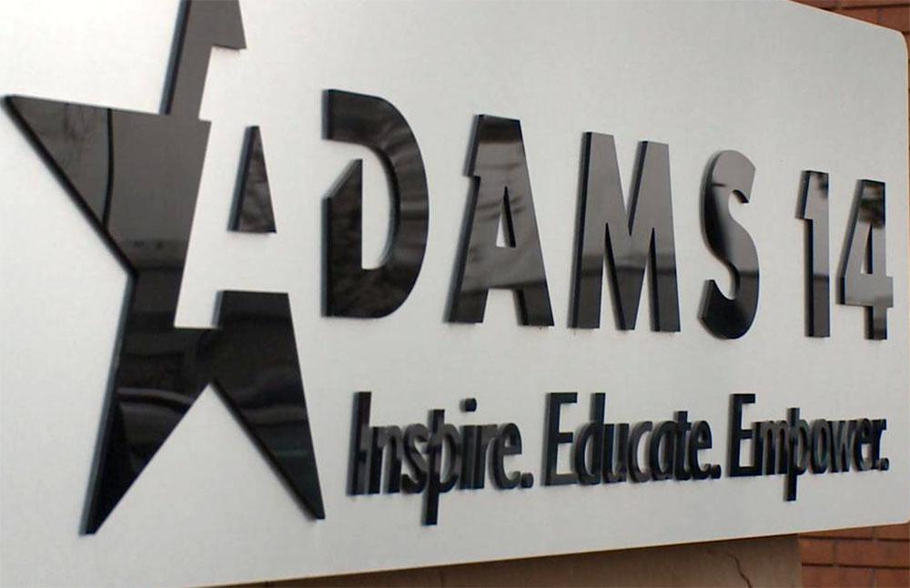 Adams 14 School District's Accreditation Restored Restablecen acreditación del Adams 14
