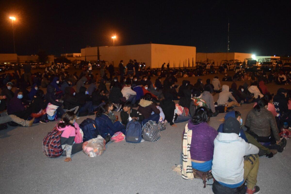 Interceptan 652 migrantes en Tamaulipas